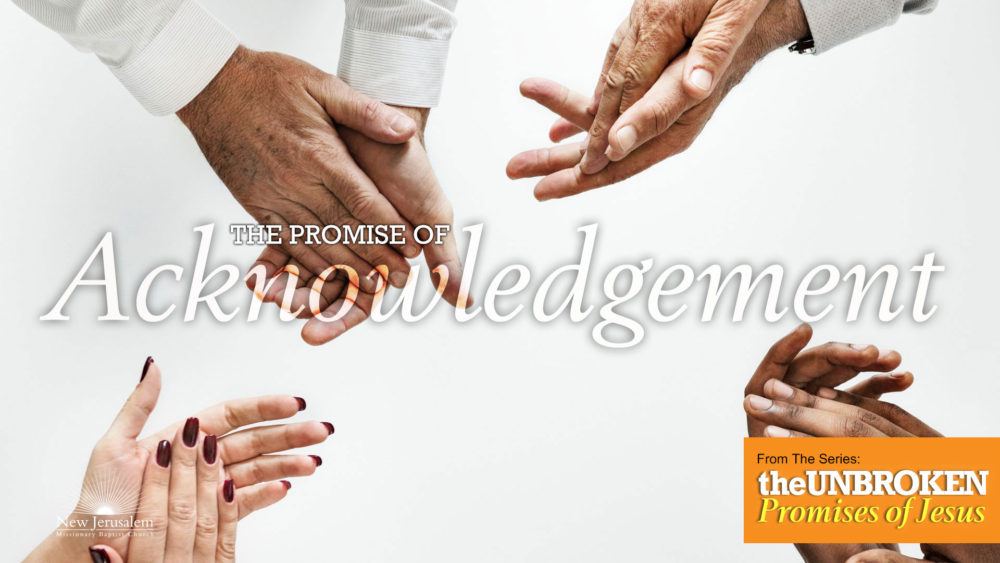 The Promise of Acknowledgement Image