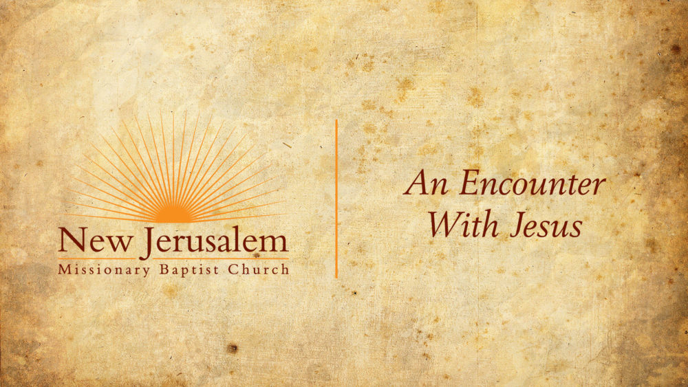 An Encounter With Jesus Image