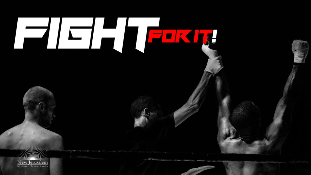 Fight For Your Testimony Image